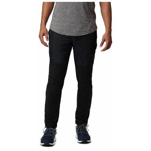 Брюки Columbia Men's Minam River Hybrid Pants, размер M, black/city grey брюки columbia m csc log fleece jogger ii размер m black city grey