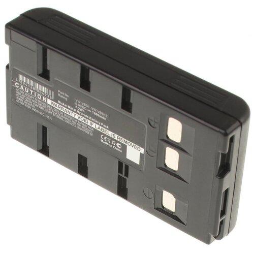 Аккумуляторная батарея iBatt 1200mAh для JVC, Panasonic, Samsung BN-V12U, BN-V400U, 244265, HHR-V214A/K, HHR-V20A/1B, 244427, FB-120, BN-V18U