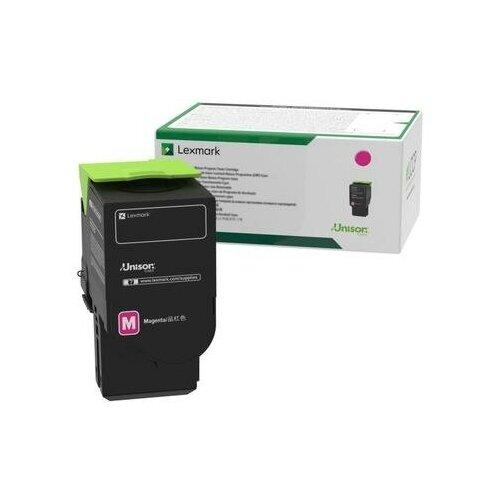 Фото - Картридж лазерный Lexmark 80C8HME пурпурный оригинальный тонер картридж lexmark 76c00m0 пурпурный