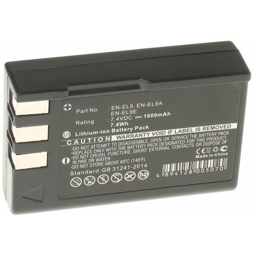 Фото - Аккумулятор iBatt iB-U1-F192 1000mAh для Nikon D3000, D5000, D60, D40, D40x, аккумулятор ibatt ib u1 f428 1180mah для gopro hd hero3 hd hero3