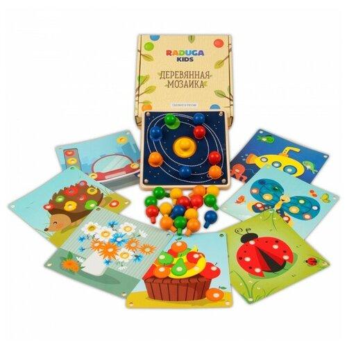 Деревянная игрушка Raduga Kids Мозаика Мини Знакомство с цветом