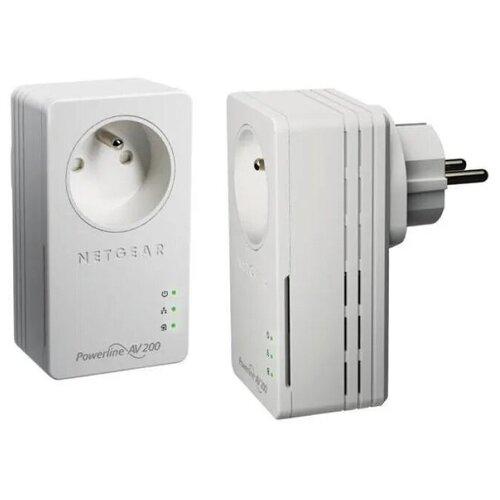 Комплект PLC адаптеров NetGear Powerline AV+ 200 Nano Set