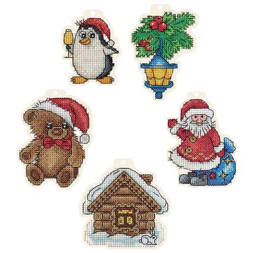 Купить Набор для вышивания PANNA IG-7109 Новогодние игрушки 1 шт., Наборы для вышивания
