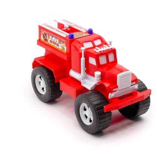 Игрушка пожарная машина 25 см Maximus пожарная машинка каталка детская / машинки игрушки для малышей / машина каталка для мальчиков / машинка детская каталка / машинка игрушка каталка / машинка детская игрушка