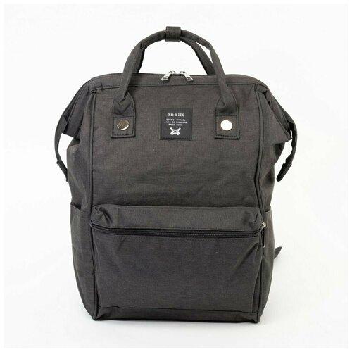 Рюкзак-саквояж Anello чёрный