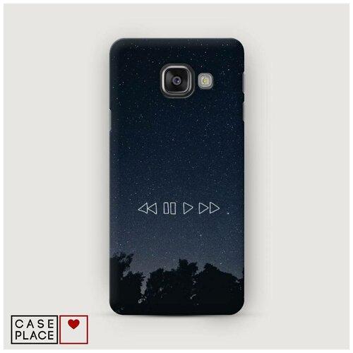 Чехол Пластиковый Samsung Galaxy A5 2016 Космическая музыка