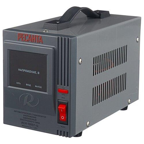 Стабилизатор напряжения однофазный РЕСАНТА ACH-1000/1-Ц (1 кВт)
