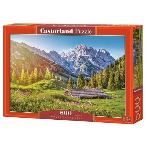 Фото - Пазл Castorland Лето в Альпах 500 элементов 53360 пазл castorland лето в альпах b 53360 500 дет