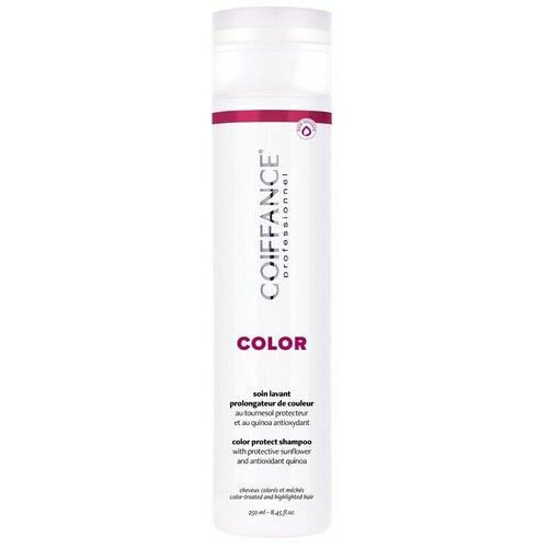 Coiffance Color-Protect Shampoo - Шампунь для защиты цвета окрашенных волос (без сульфатов) 250 мл недорого