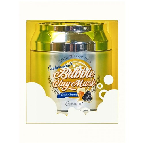 ESTHETIC HOUSE Маска для лица пузырьковая Esthetic Formula Carbonated Bubble Clay Mask, 80 мл urban dollkiss глиняно пузырьковая маска с угольным порошком carbonated bubble charcoal clay mask 100 мл