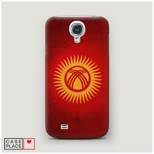 Чехол Пластиковый Samsung Galaxy S4 Флаг Киргизии