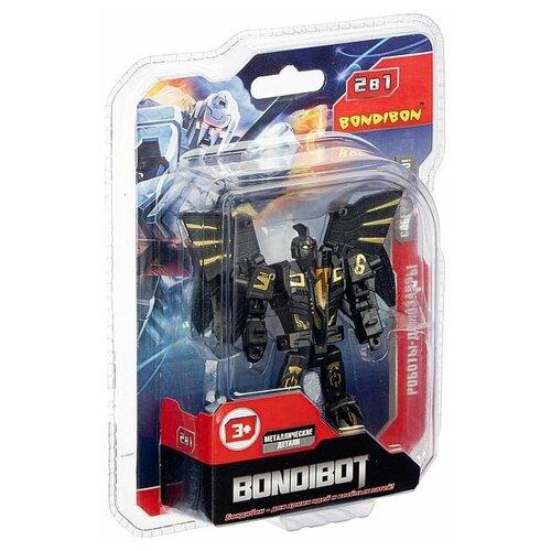 Трансформер BONDIBON 2в1 BONDIBOT BONDIBON робот-птерозавр, метал. детали, арт. E2007- (ВВ5000)
