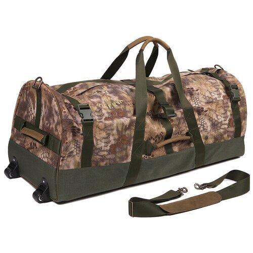 Большая сумка с колесами Riserva 2211, кордура, Highlander