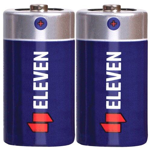 Фото - Батарейка Eleven C (R14), 2 шт. батарейки panasonic c r14 пленка 2 шт