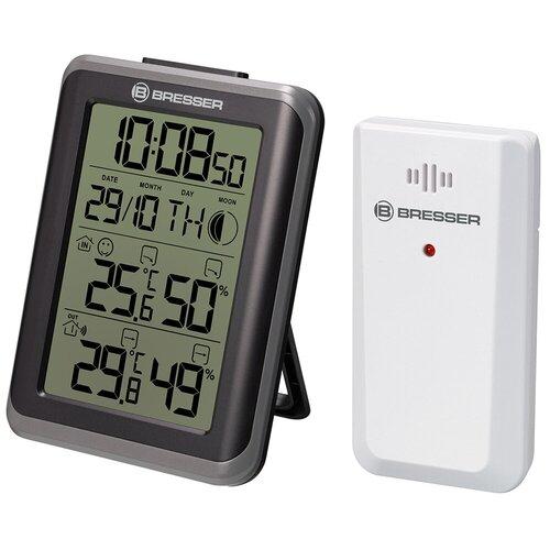Гигрометр с часами Bresser (Брессер) MyClimate, черный