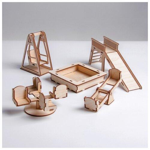 Кукольная мебель Лесная мастерская