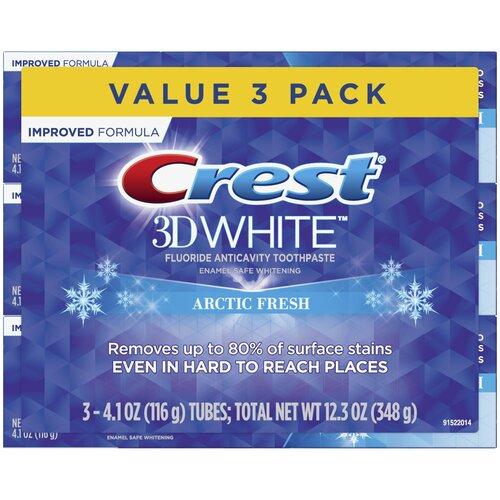 Crest 3D White Arctic Fresh – Набор из 3 зубных паст
