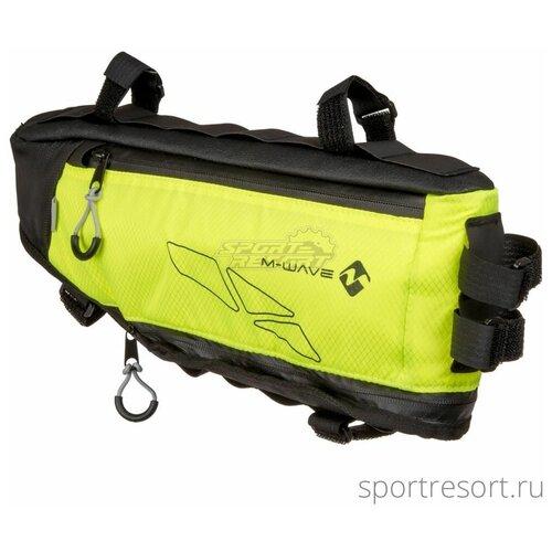 M-Wave Велосумка под раму M-Wave Borsa Rough Bag Black/Yellow