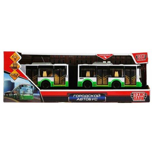 Фото - Технопарк Технопарк Городской автобус с гармошкой пластик, инерция, открываются двери, 32.5 см BUSRUB-30PL-GNWH автобус технопарк городской sb 16 57wb 15 см желтый