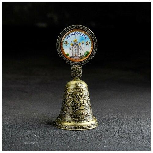 Колокольчик со вставкой «Магнитогорск», 4.4 х 10 см 2881880