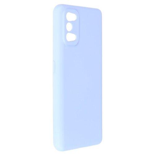 Чехол Pero для Realme 7 Pro Liquid Silicone Blue PCLS-0058-LB