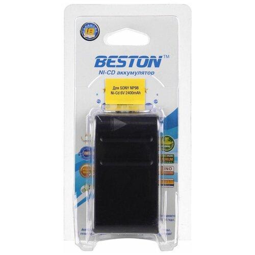 Аккумулятор для видеокамер BESTON SONY BST-NP98, NI-CD, 6 В, 2400 мАч