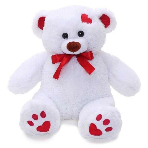 Мягкая игрушка «Медведь Кельвин» белый, 50 см