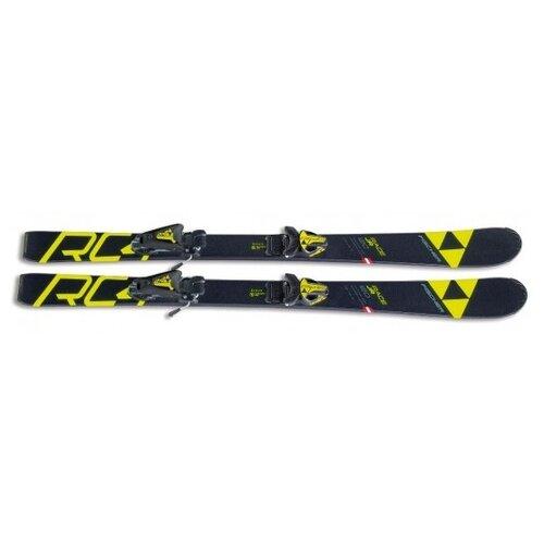 Горные лыжи детские с креплениями Fischer RC4 RACE JR + FJ4 AC SLR BRAKE 74 (18/19), 80 см