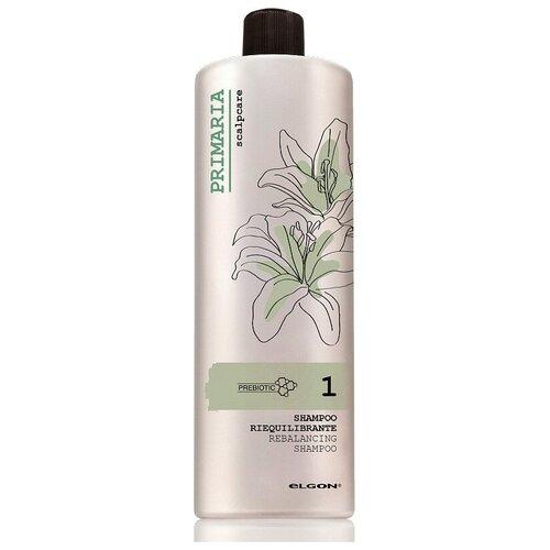 Купить Шампунь для жирных волос с глиной Rebalancing Shampoo Elgon Primaria, 1000 мл