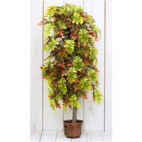 Искусственные цветы Осенний дуб /Искусственные цветы для декора/ искусственные цветы для декора в горшках/ искусственные цветы для декора в кашпо/ Искусственные растения/ искусственные цветы в кашпо