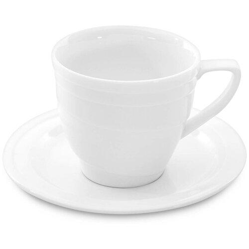 Чашка для экспрессо с блюдцем 0,095л Berghoff Hotel 1690193L