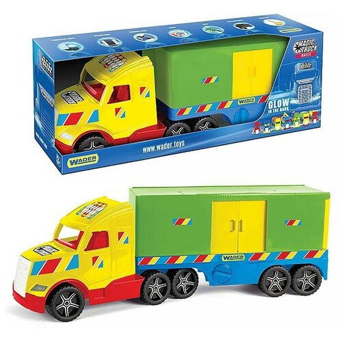 Фургон Magic Truck Basic фургон wader спасательная команда 0537 24 см