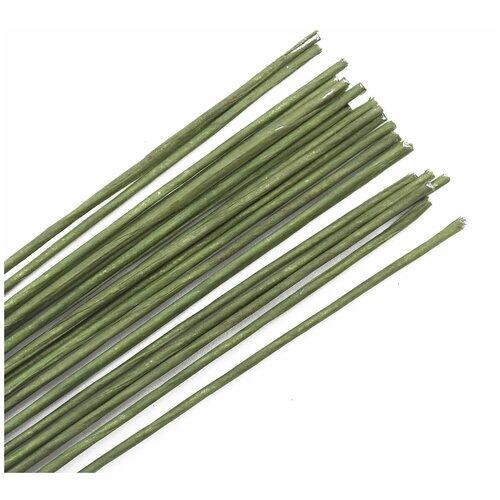 Проволока для флористики диам.1,60мм, 60 см, 50шт. Astra&Craft (зеленый)