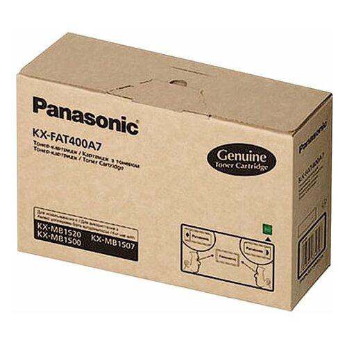 Фото - Тонер-картридж Panasonic (KX-FAT400A) KX-MB1500/1520, оригинальный, 1800 копий картридж panasonic kx fat400a 1 8k superfine