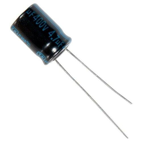 Конденсатор электролитический 4,7x400 (8x11) TK Jamicon 105C