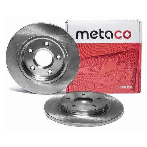Диск тормозной задний (Производитель: METACO 3060116)