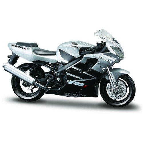 Maisto Мотоцикл Honda CBR 600F4i, 1:18, серебристый
