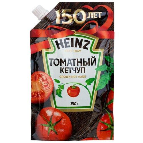 Фото - Кетчуп Heinz Томатный дой-пак, 350 г 2 шт. кетчуп томатный heinz чеснок и пряности