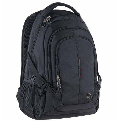 Рюкзак PULSE SATURN BLACK, 48x34x20см pulse рюкзак pulse scate black dot