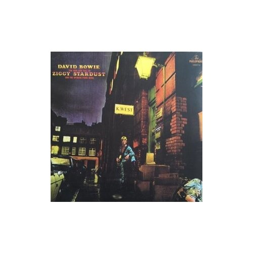 Виниловые пластинки, Parlophone, DAVID BOWIE - The Rise And Fall Of Ziggy Stardust And The Spiders From Mars (LP) david bowie ziggy stardust