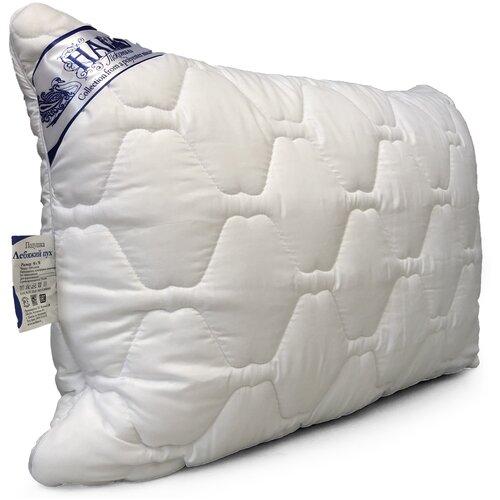 Подушка Текстиль Haus Искусственный лебяжий пух с чехлом стеганная 50х70