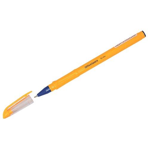 Купить Ручка шариковая OfficeSpace Orange (0.5мм, синий цвет чернил, масляная основа) 12шт. (OBGP_10005), Ручки