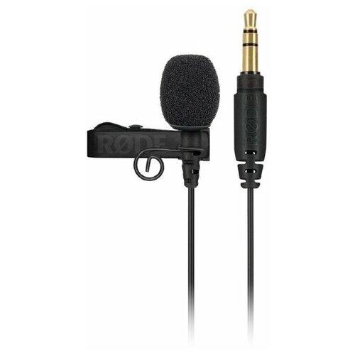Петличный микрофон RODE Lavalier GO Black