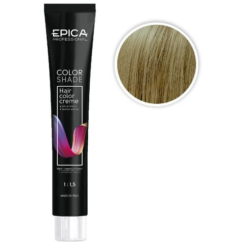Купить EPICA Professional Color Shade крем-краска для волос, 9.32 блондин бежевый, 100 мл