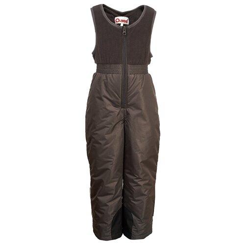 Купить Полукомбинезон Oldos Тонни OAW203T1PT20 размер 110, темно-серый, Полукомбинезоны и брюки