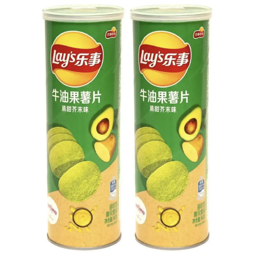 Фото - Чипсы Lay's stax авокадо и васаби 90гр х 2шт. чипсы lays вкус васаби и авокадо 90г
