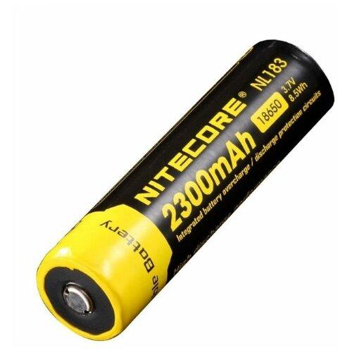 Фото - NiteCore Аккумулятор Nitecore NL1823 18650 LI-ION 3.7v 2300mAh аккумулятор nitecore nl1665r