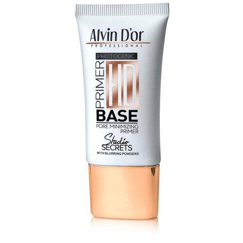 Купить Alvin D'or Матирующая база под макияж HD Primer Base 25 мл прозрачный
