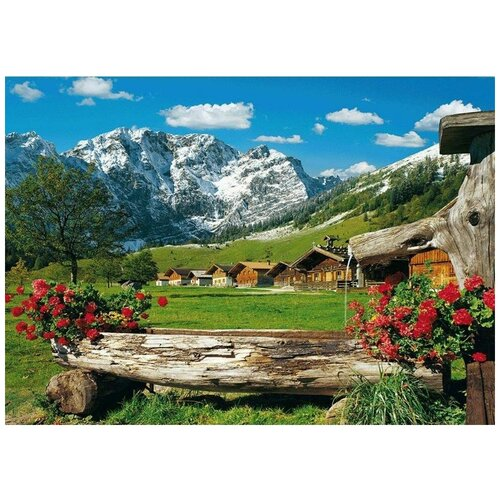 Пазл Schmidt 1000 деталей: Вид на горы