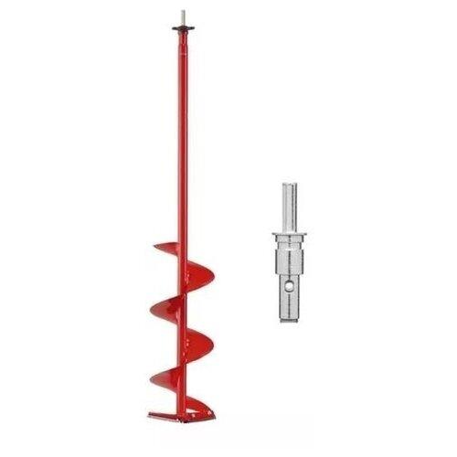 Шнек MORA ICE Easy Cordless для шуруповёрта, диам. 150 мм. с прямыми ножами и адаптером 18мм.
